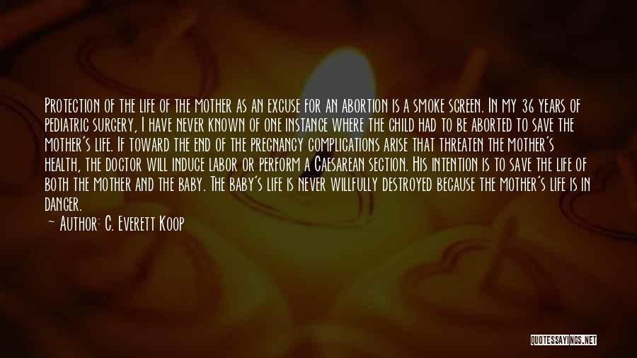Mother And Child Health Quotes By C. Everett Koop
