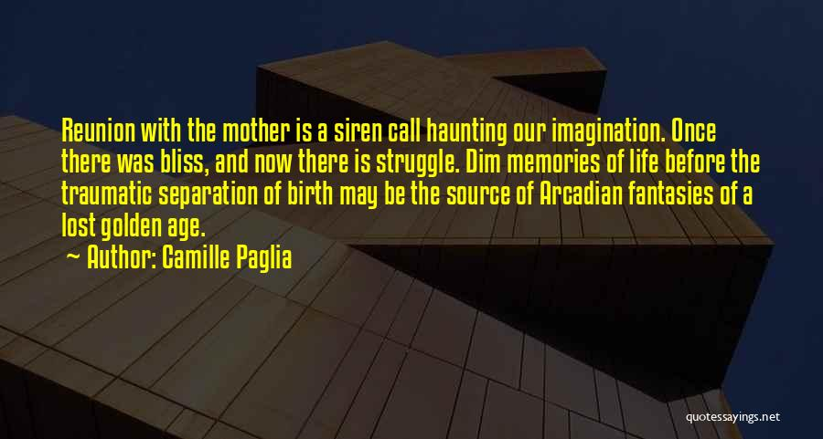 Mother Birth Quotes By Camille Paglia