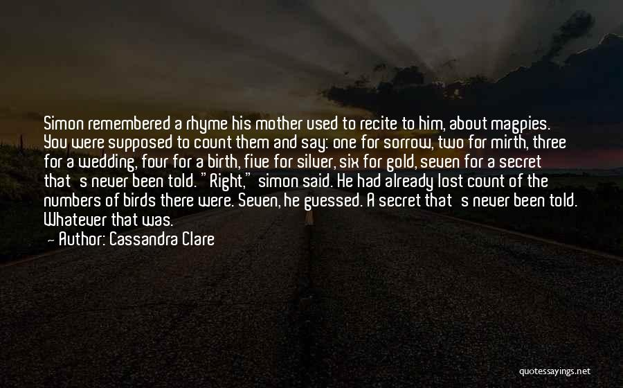 Mother Birth Quotes By Cassandra Clare