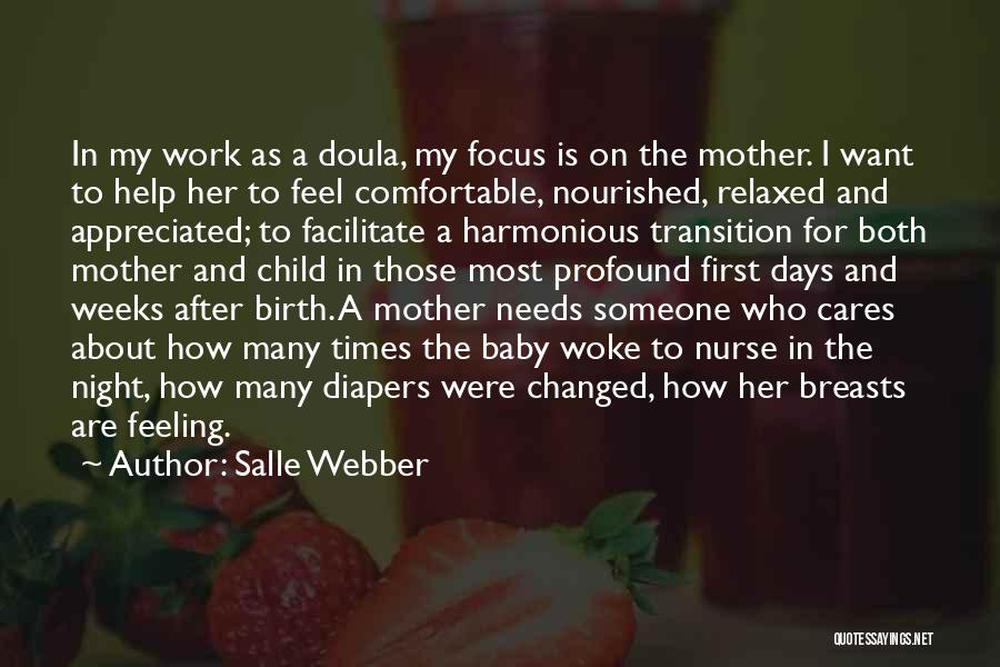 Mother Birth Quotes By Salle Webber