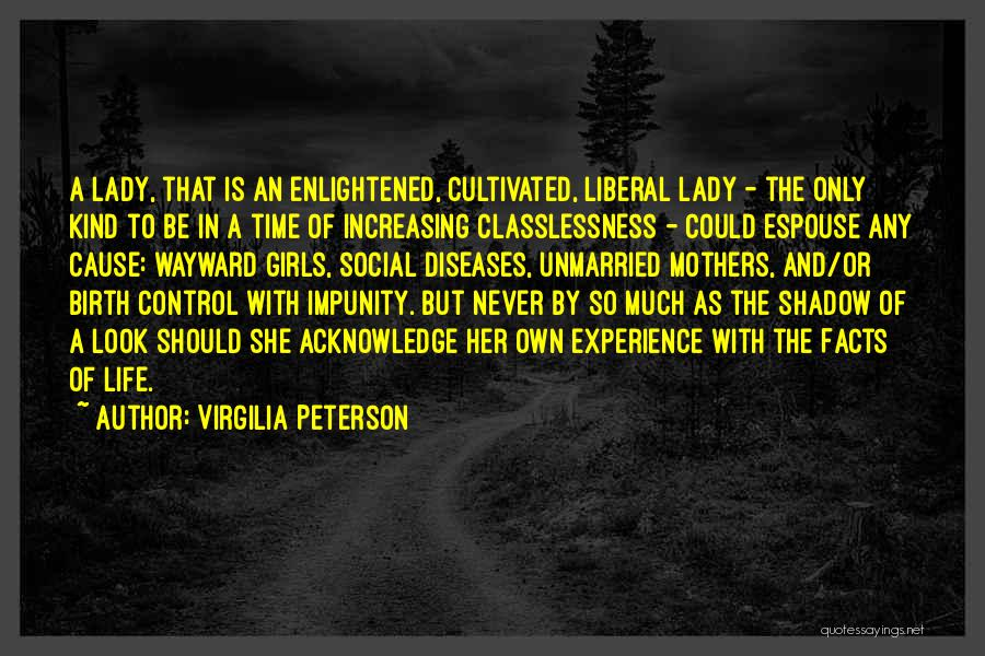Mother Birth Quotes By Virgilia Peterson