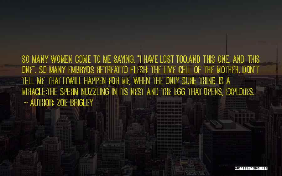 Mother Birth Quotes By Zoe Brigley