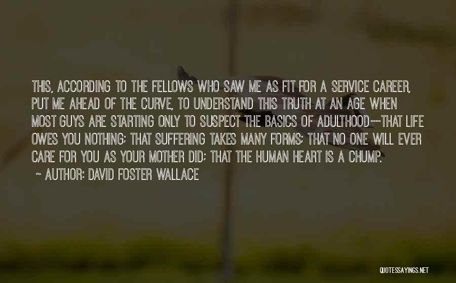 Mother Care Quotes By David Foster Wallace