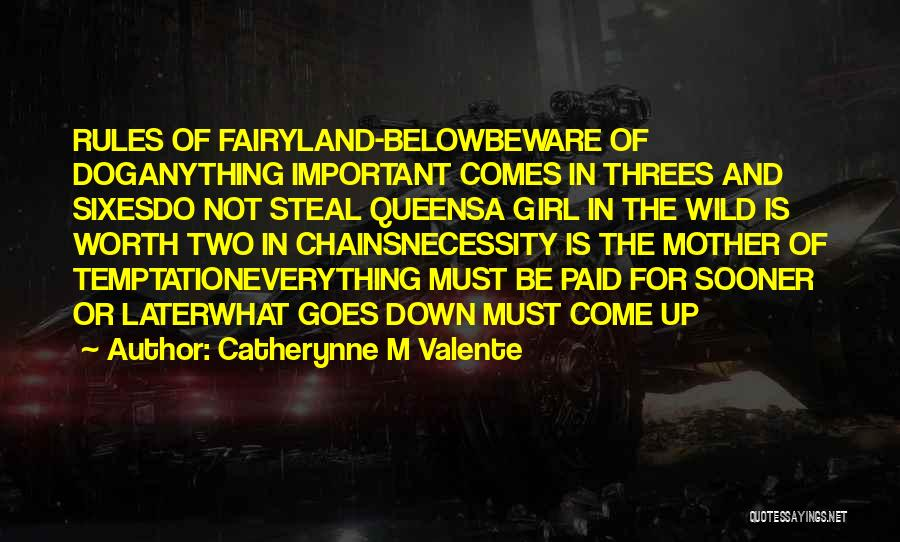 Mother In Laws Quotes By Catherynne M Valente