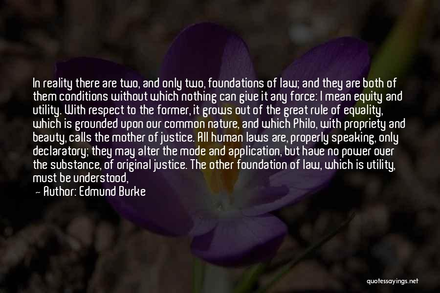 Mother In Laws Quotes By Edmund Burke
