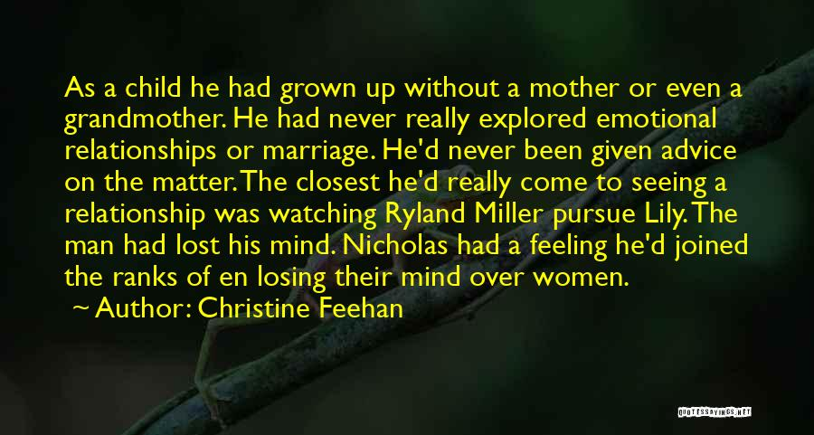 Mother Losing Her Child Quotes By Christine Feehan