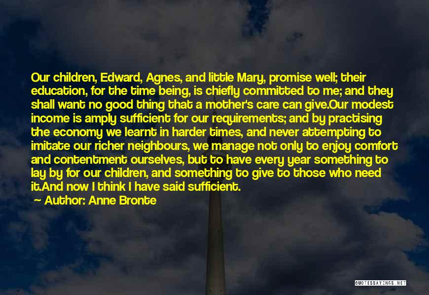 Mother Mary Quotes By Anne Bronte
