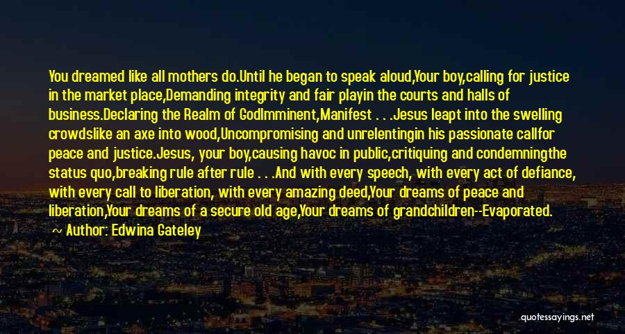 Mother Mary Quotes By Edwina Gateley