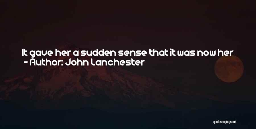 Mother Mary Quotes By John Lanchester