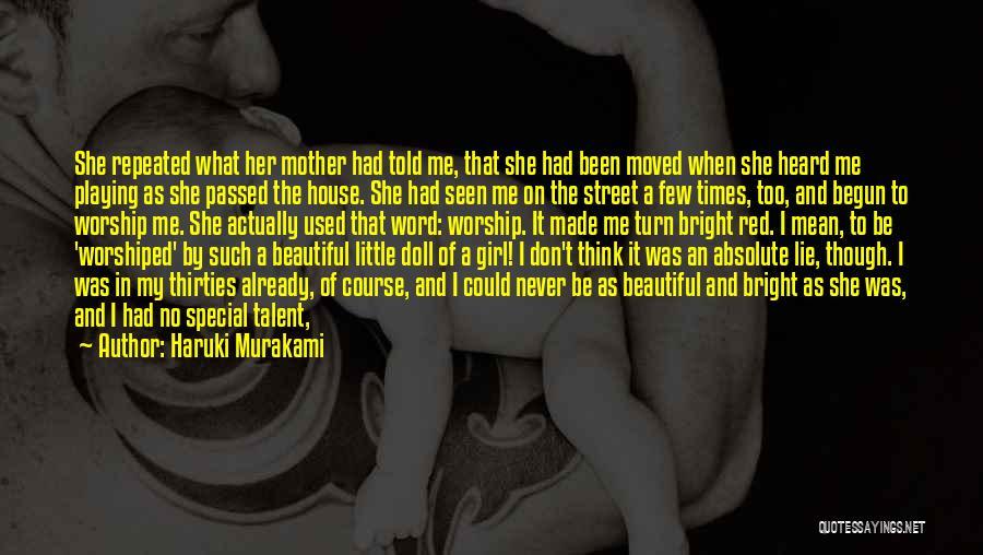 Mother Passed Quotes By Haruki Murakami