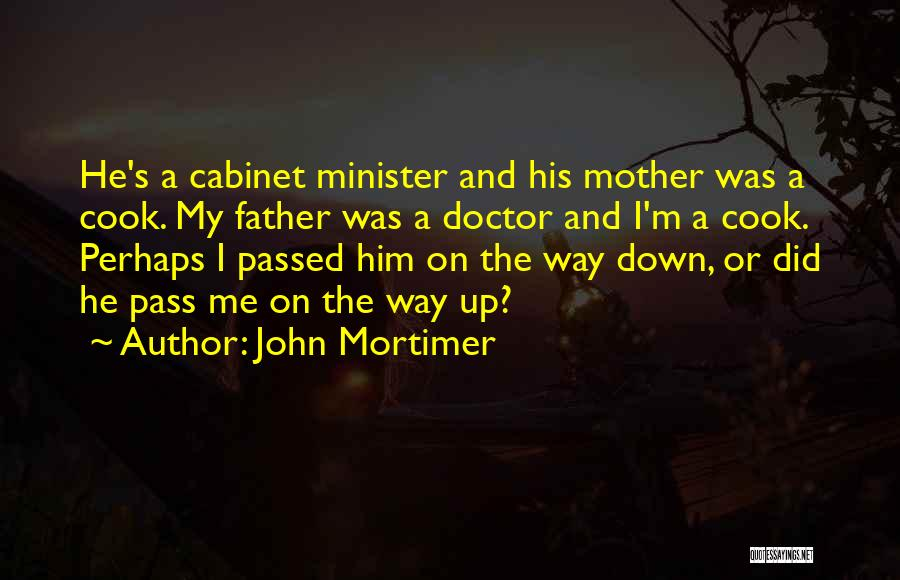 Mother Passed Quotes By John Mortimer