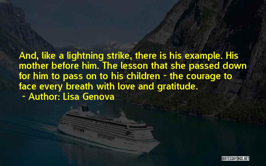 Mother Passed Quotes By Lisa Genova