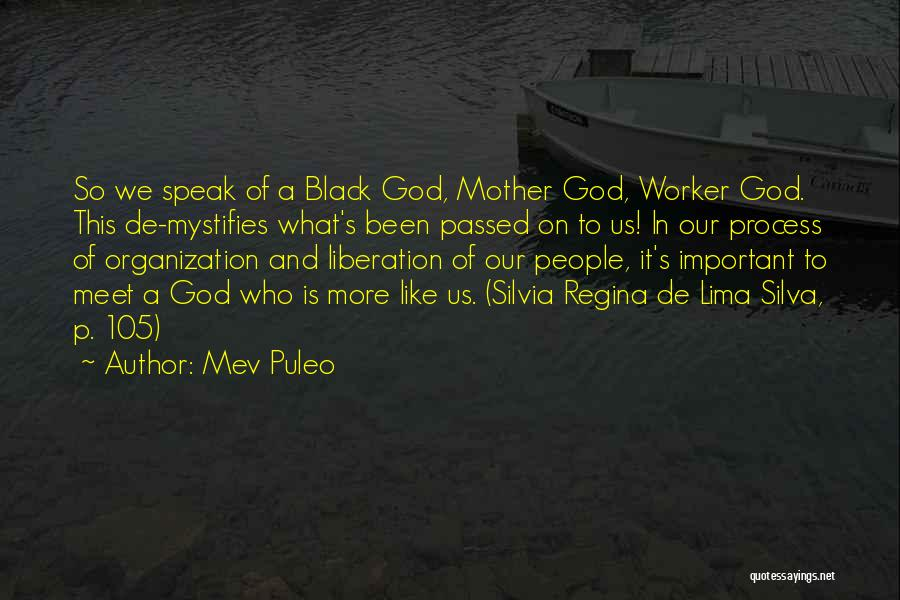 Mother Passed Quotes By Mev Puleo