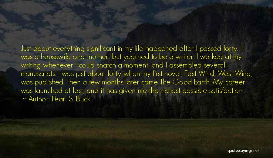 Mother Passed Quotes By Pearl S. Buck