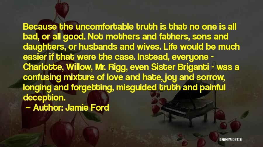 Mothers Love For Their Sons Quotes By Jamie Ford