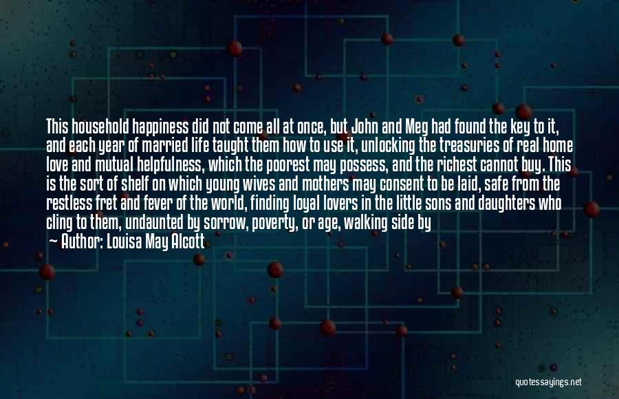 Mothers Love For Their Sons Quotes By Louisa May Alcott