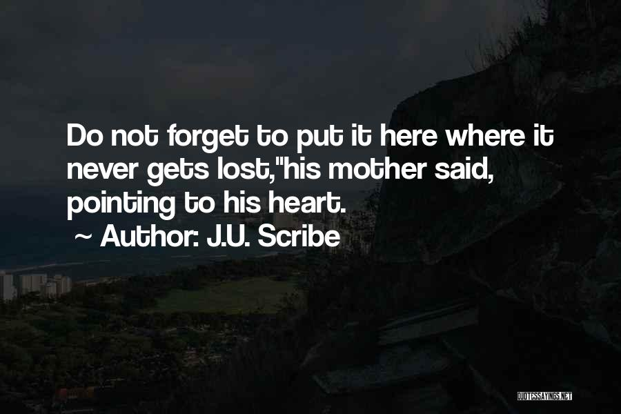 Mother's Warmth Quotes By J.U. Scribe