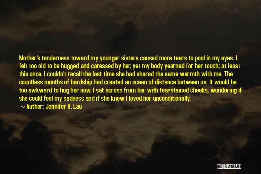 Mother's Warmth Quotes By Jennifer H. Lau
