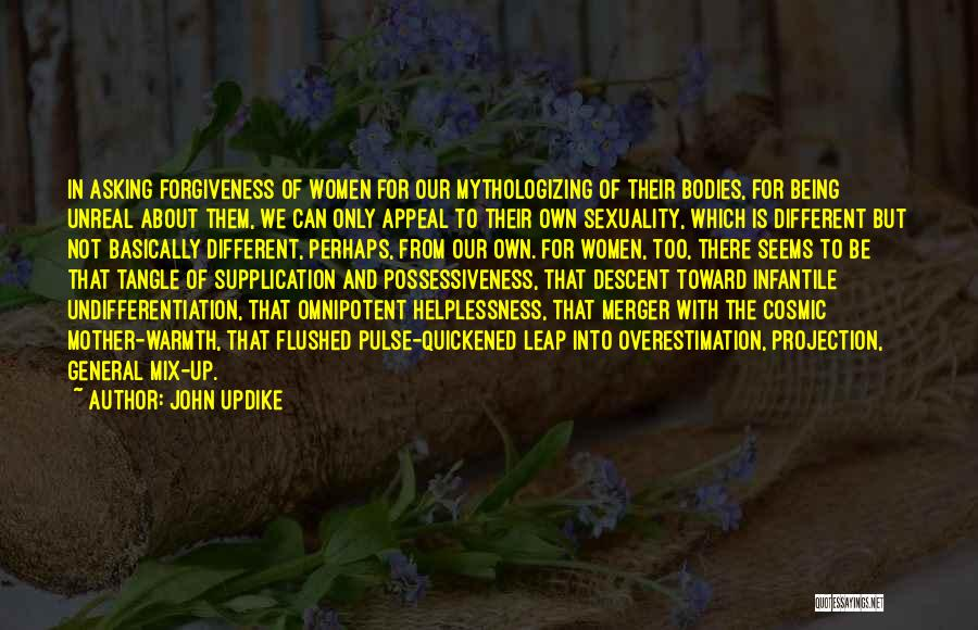 Mother's Warmth Quotes By John Updike