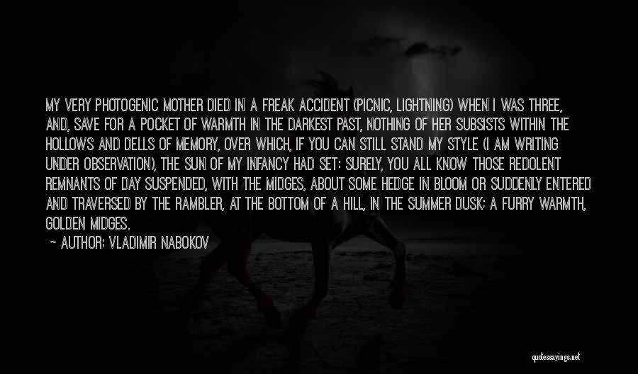 Mother's Warmth Quotes By Vladimir Nabokov