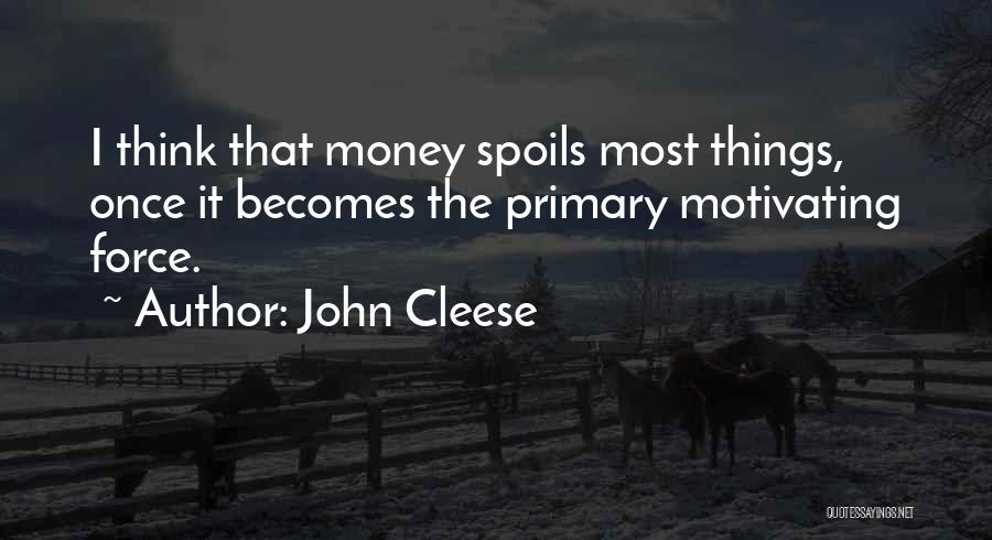 Motivating Yourself Quotes By John Cleese