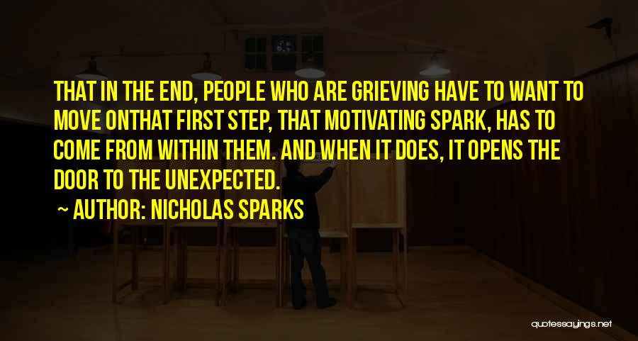 Motivating Yourself Quotes By Nicholas Sparks