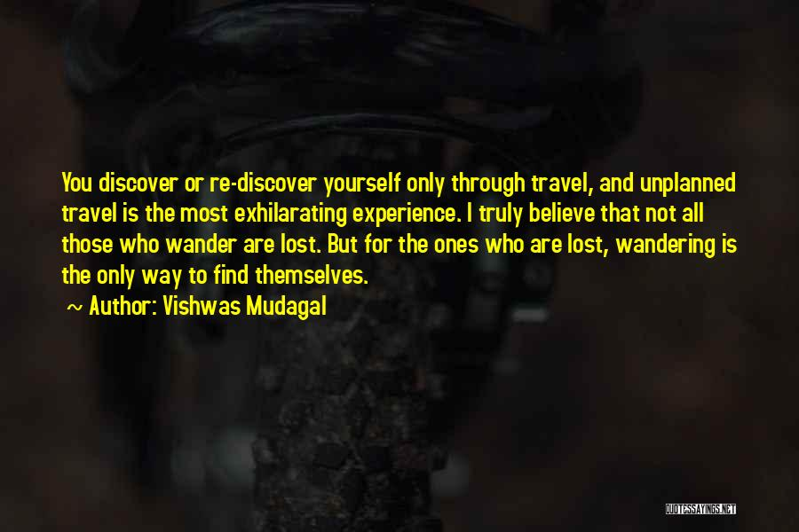 Motivating Yourself Quotes By Vishwas Mudagal