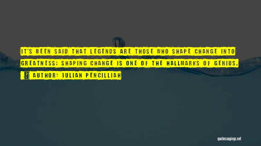 Motivational Get In Shape Quotes By Julian Pencilliah