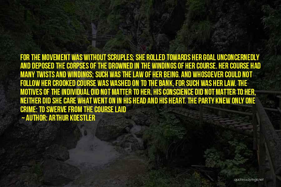 Motives Of The Heart Quotes By Arthur Koestler