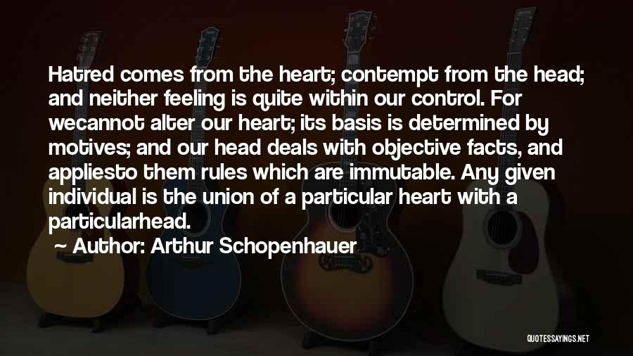 Motives Of The Heart Quotes By Arthur Schopenhauer