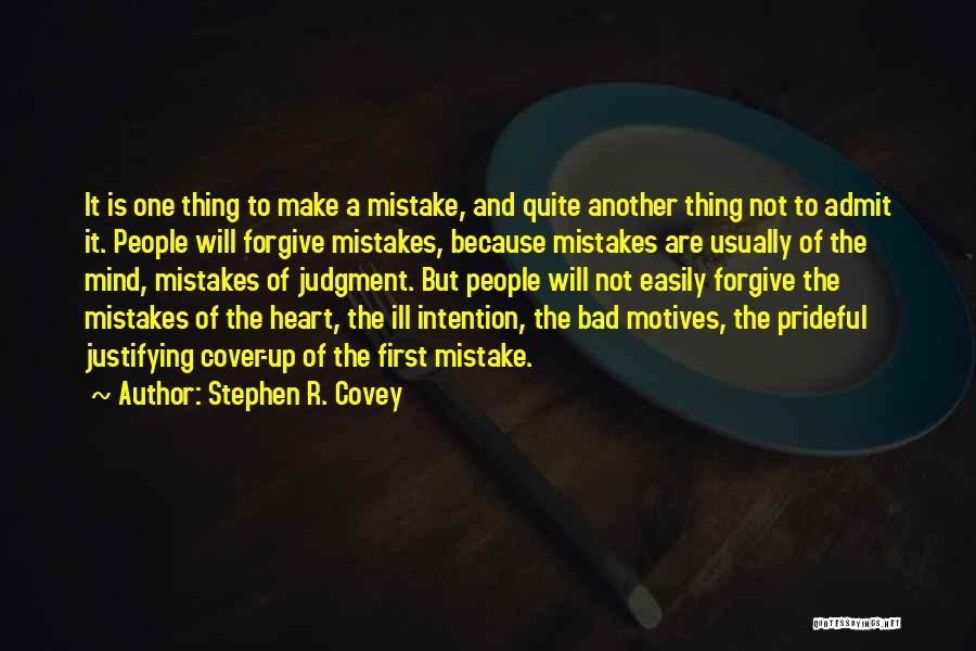 Motives Of The Heart Quotes By Stephen R. Covey