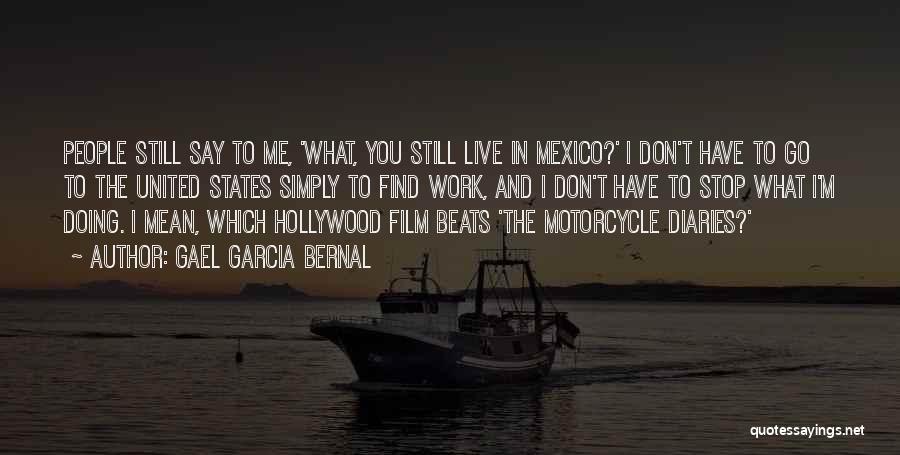 Motorcycle Diaries Quotes By Gael Garcia Bernal