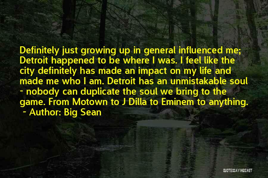 Motown Quotes By Big Sean
