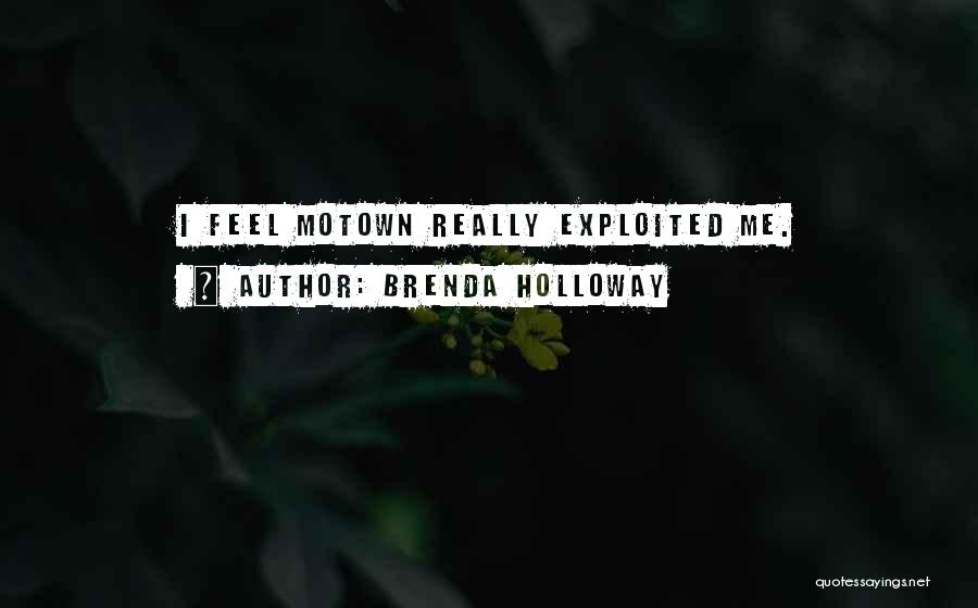 Motown Quotes By Brenda Holloway