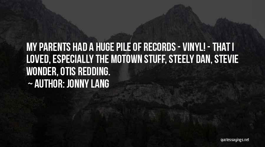 Motown Quotes By Jonny Lang