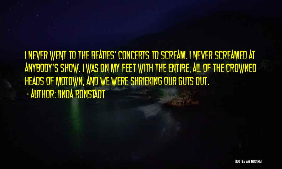 Motown Quotes By Linda Ronstadt