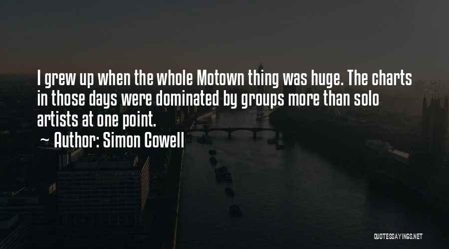 Motown Quotes By Simon Cowell