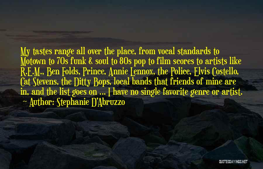 Motown Quotes By Stephanie D'Abruzzo