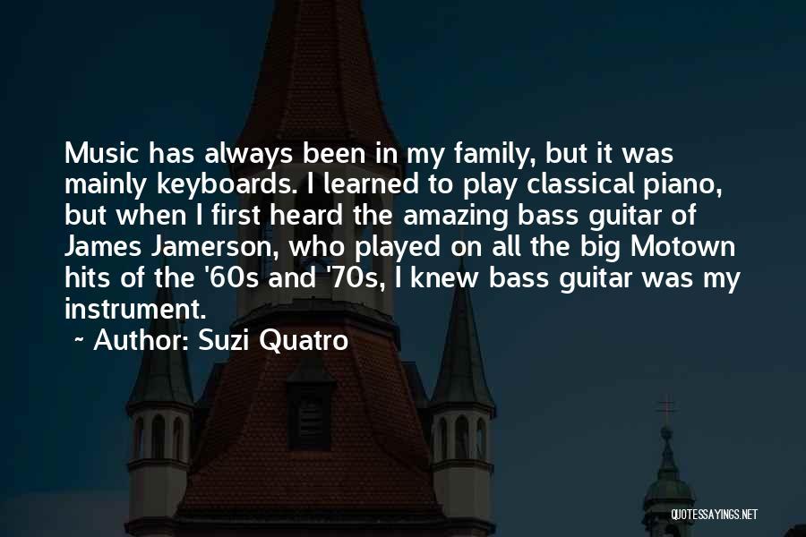 Motown Quotes By Suzi Quatro