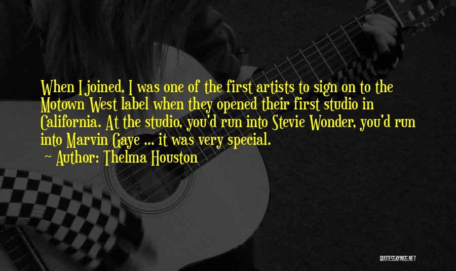 Motown Quotes By Thelma Houston
