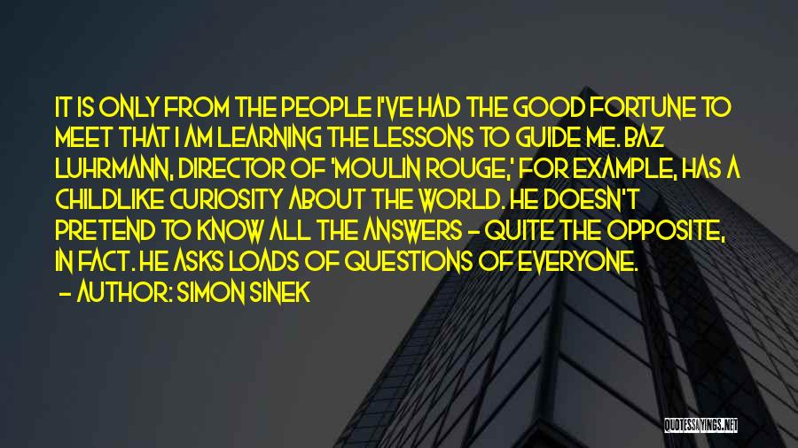 Moulin Rouge Quotes By Simon Sinek