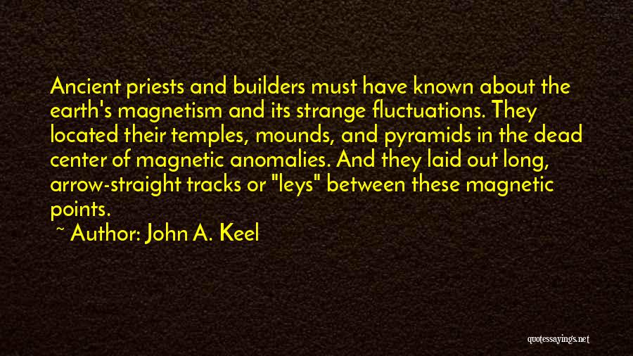 Mounds Quotes By John A. Keel