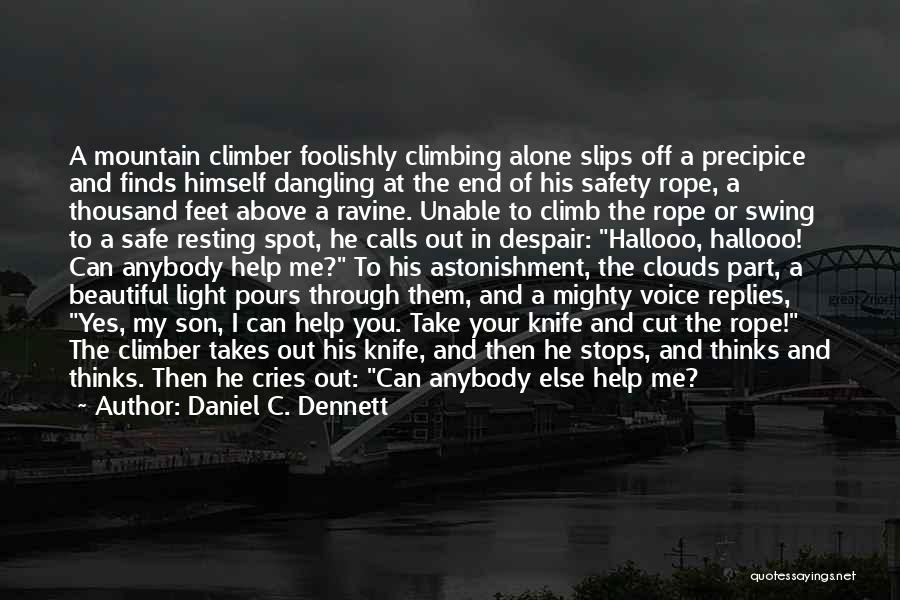Mountain Climb Quotes By Daniel C. Dennett