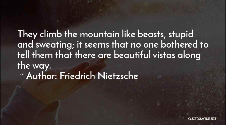 Mountain Climb Quotes By Friedrich Nietzsche