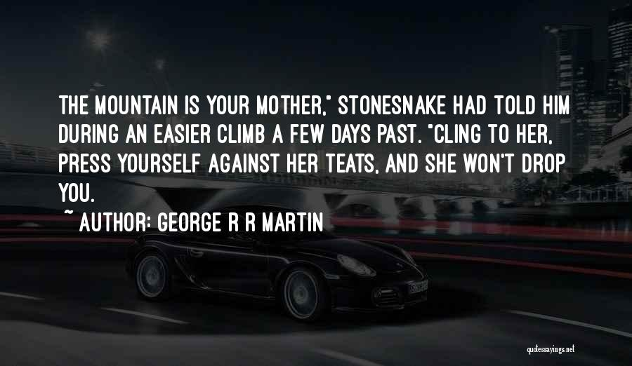 Mountain Climb Quotes By George R R Martin