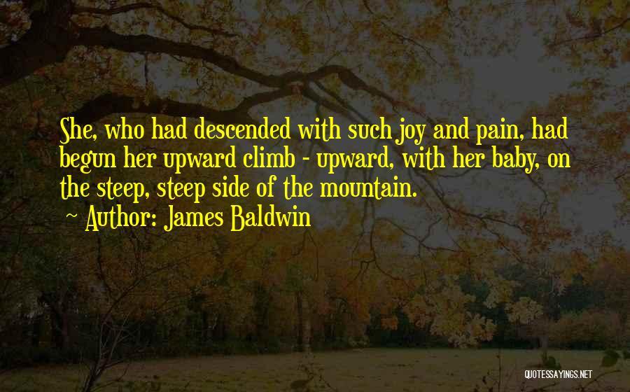 Mountain Climb Quotes By James Baldwin