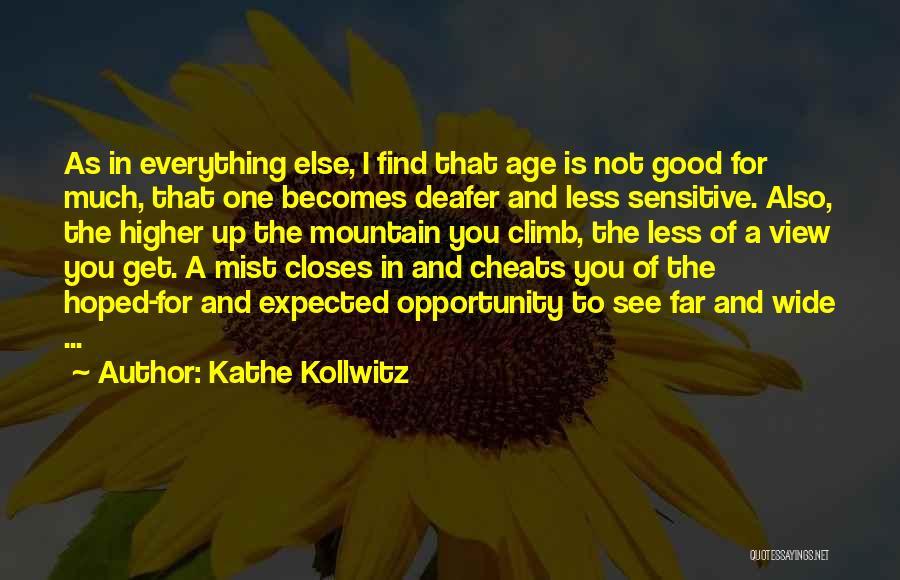 Mountain Climb Quotes By Kathe Kollwitz