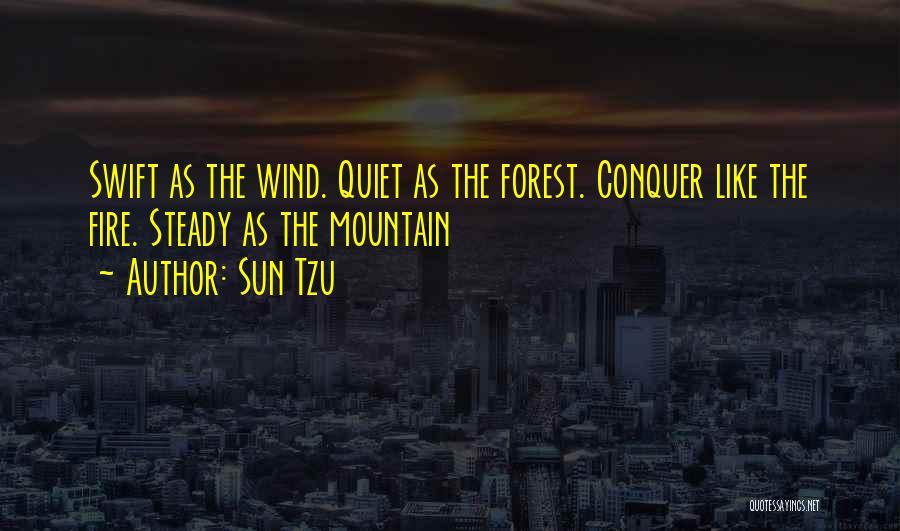 Mountain Conquer Quotes By Sun Tzu