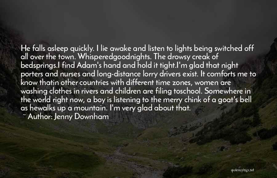 Mountain Goat Quotes By Jenny Downham