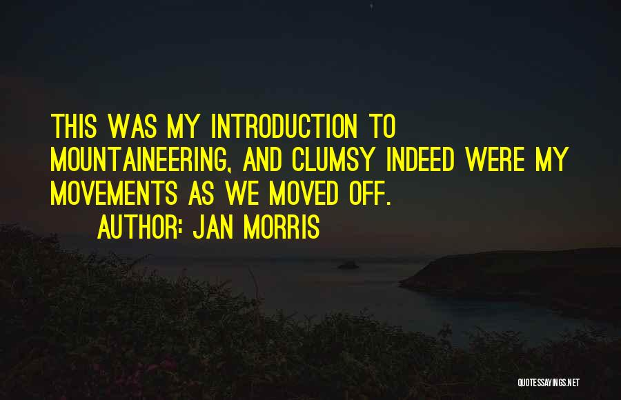 Mountaineering Quotes By Jan Morris